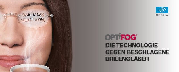 OPTIFOG – Beschlagene Brille