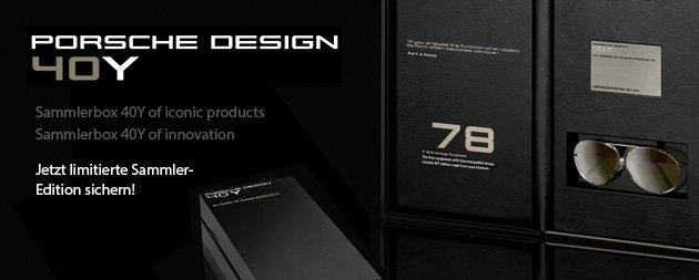 PORSCHE DESIGN 40Y EDITION Black-Chronograph